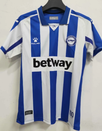 Thai Version Deportivo Alavés 20/21 Home Soccer Jersey