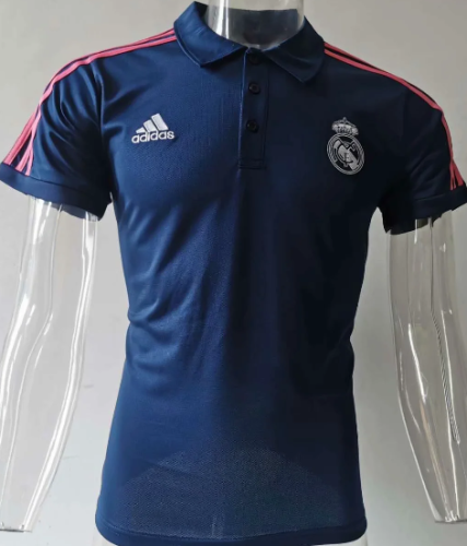 Real Madrid 20/21 Training Polo-Blue