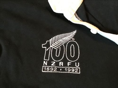 All Blacks 1992 Men's 100 Years Rugby Jersey