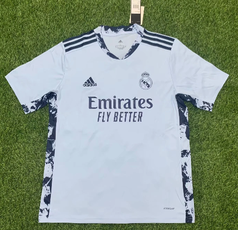 Thai Version Real Madrid 20/21 Goalkeeper Soccer Jersey