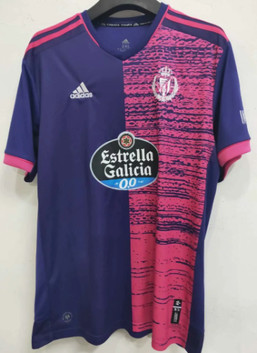 Thai Version Real Valladolid 20/21 Away Soccer Jersey