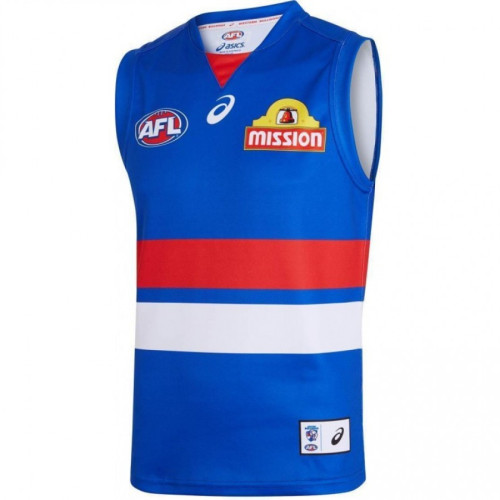 Western Bulldogs 2019 Men's Home Football Guernsey