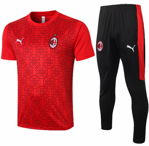 AC Milan 20/21 Training Jersey and Pants-C574