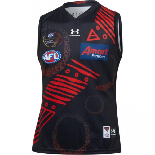 Essendon Bombers 2020 Men's Indigenous Football Guernsey