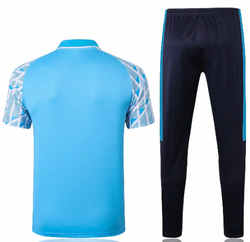 Olympique Marseille 20/21 Polo and Pants -C576