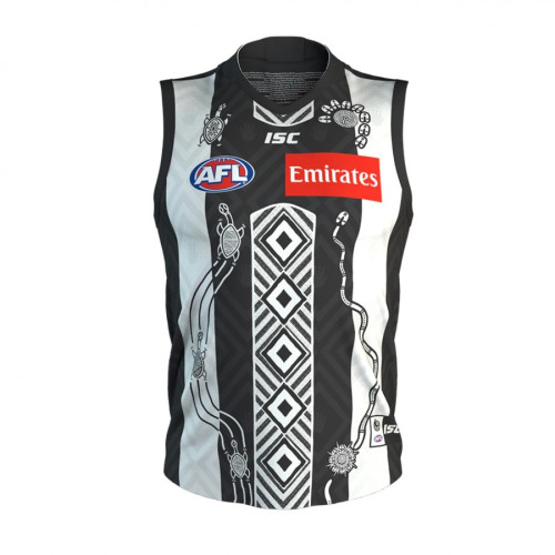 Collingwood Magpies 2020 Men's Indigenous Football Guernsey