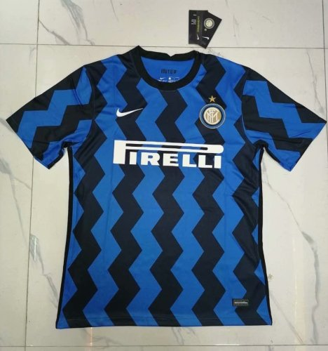 Thai Version Inter Milan 20/21 Home Soccer Jersey