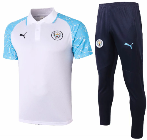 Manchester City 20/21 Training Polo and Pants - C577