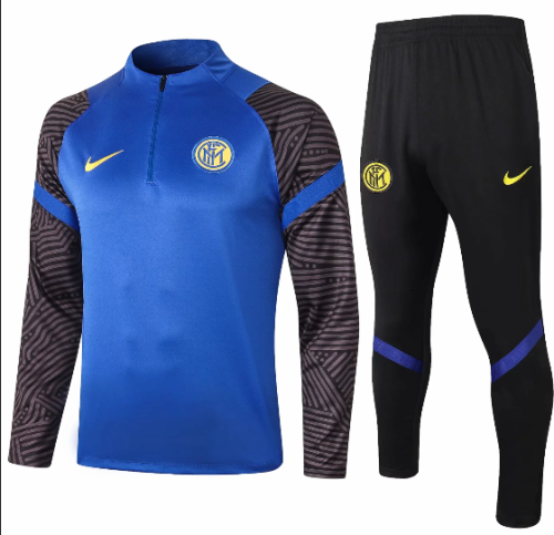 Inter Milan 20/21 Soccer Training Top and Pants -B431