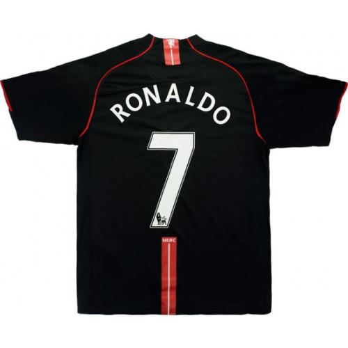 Manchester United 2007-08 Third Retro Jersey #7 Ronaldo