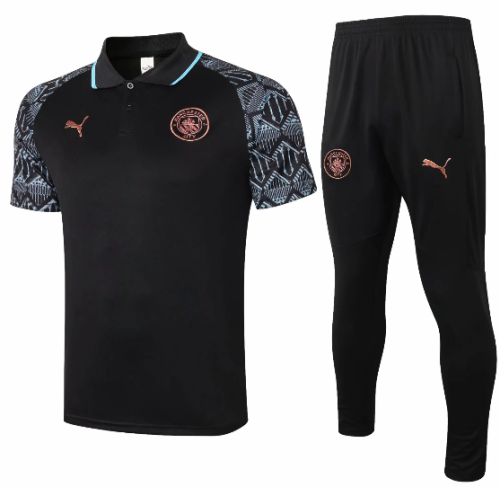 Manchester City 20/21 Training Polo and Pants - C578