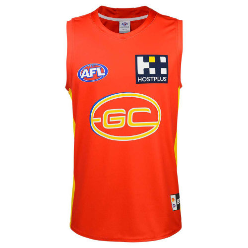Gold Coast Suns 2020 Mens Home Football Guernsey