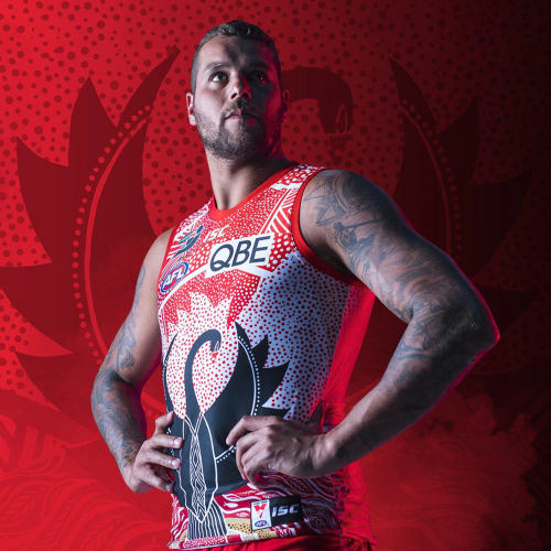 Sydney Swans 2020 Mens Indigenous Football Guernsey