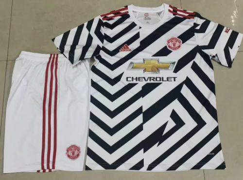 Manchester United 20/21 Third Soccer Jersey and Short Kit