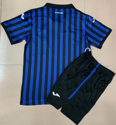 Atalanta 20/21 Kids Home Soccer Jersey and Short Kit