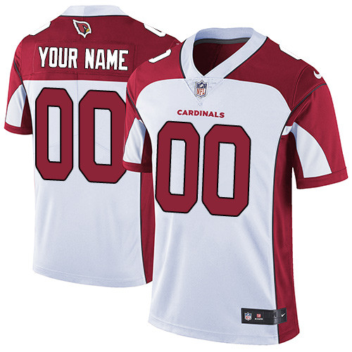 Men's Customized Limited White Team Jersey