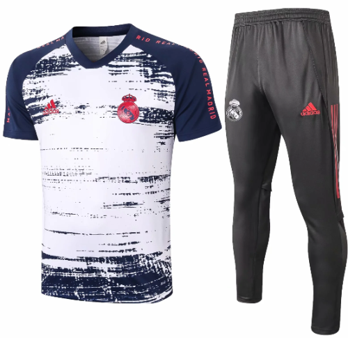 Real Madrid 20/21 Training Jersey and Pants C584