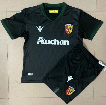 RC Lens 20/21 Kids Third Soccer Jersey and Short Kit