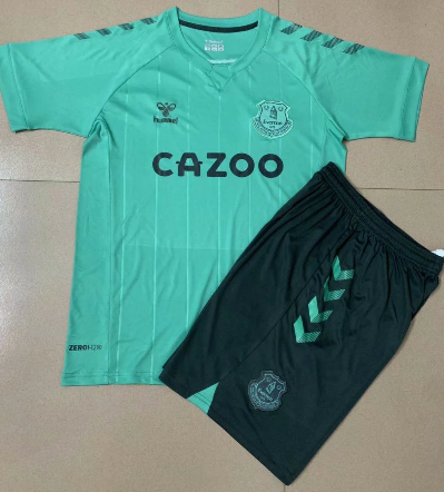 Everton 20/21 Kids Third Soccer Jersey and Short Kit