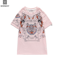 2020 Summer Luxary Brand T-shirt Pink
