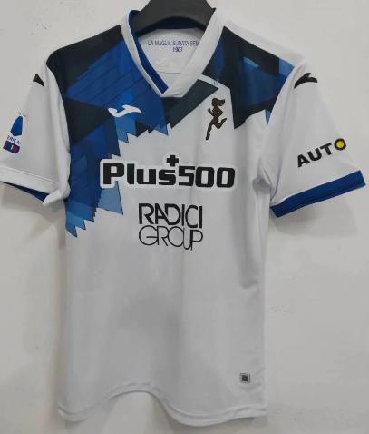 Thai Version Atalanta BC 20/21 Away Soccer Jersey