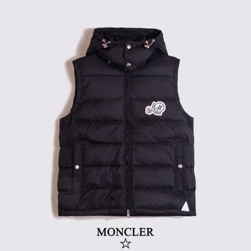 2020 Fashionable Brand Waistcoat Black