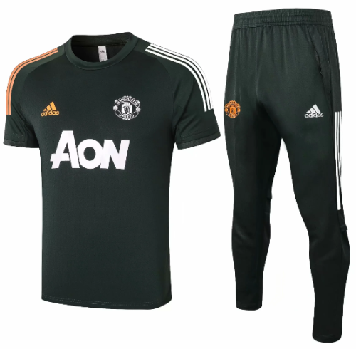 Manchester United 20/21 Training Jersey and Pants C566