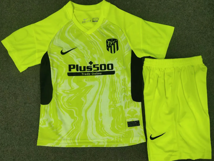 Atletico Madrid 20/21 Kids Third Soccer Jersey and Short Kit