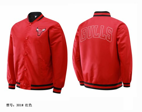 Chicago Full-Zip Jacket Red