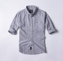 Men's Casual Brand Classic L/S Stripe Shirts AF-001