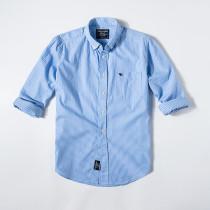 Men's Casual Brand Classic L/S Stripe Shirts AF-002