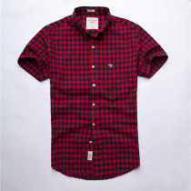 Men's Casual Brand Classic S/S Shirts A-F004