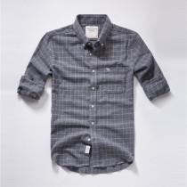 Men's Casual Brand Classic L/S Plaid Shirts AF-008