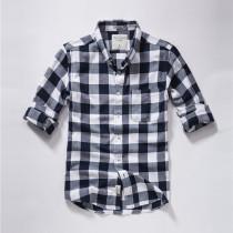 Men's Casual Brand Classic L/S Plaid Shirts AF-005