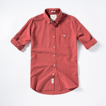 Men's Casual Brand Classic L/S Plaid Shirts AF-002