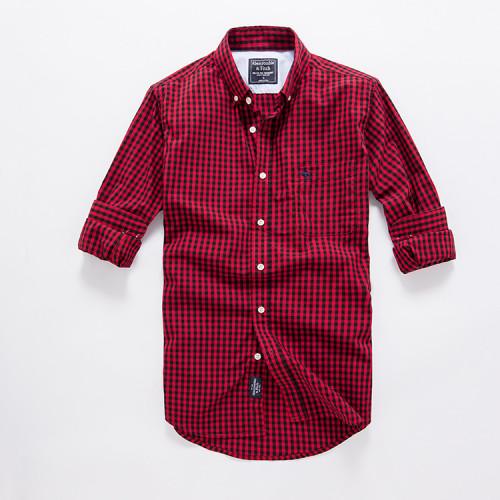 Men's Casual Wear Brand L/S Classic Shirts AFS006