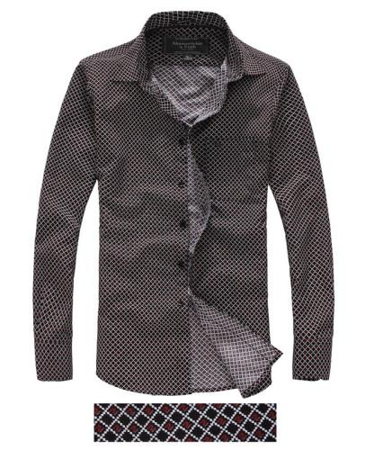 Men's Casual Wear Brand Classic L/S Plaid Shirts AF-S002