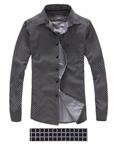 Men's Casual Wear Brand Classic L/S Plaid Shirts AF-S001