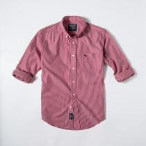Men's Casual Brand Classic L/S Stripe Shirts AF-005