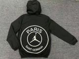 Paris Saint-Germain 20/21 Windbreaker Black