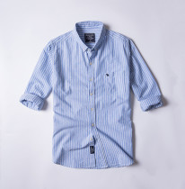 Men's Casual Brand Classic L/S Stripe Shirts AF-003