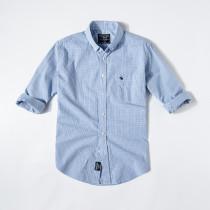 Men's Casual Brand Classic L/S Stripe Shirts AF-006
