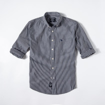 Men's Casual Brand Classic L/S Stripe Shirts AF-004