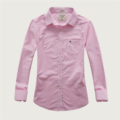Women's Casual Wear Brand Classic L/S Pure Shirts AF-W-009