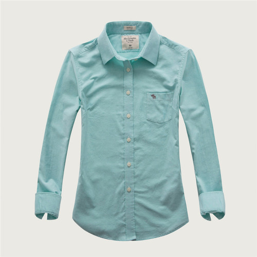 Women's Casual Wear Brand Classic L/S Pure Shirts AF-W-003