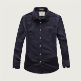 Women's Casual Wear Brand Classic L/S Pure Shirts AF-W-005