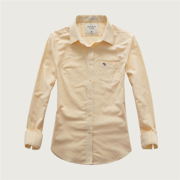 Women's Casual Wear Brand Classic L/S Pure Shirts AF-W-007