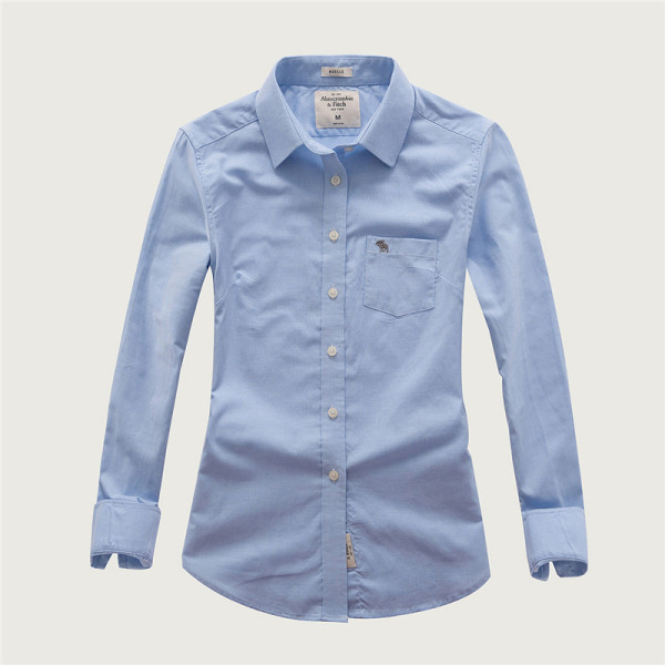 Women's Casual Wear Brand Classic L/S Pure Shirts AF-W-008