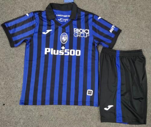 Atalanta BC 20/21 Kids Home Soccer Jersey and Short Kit