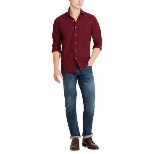 Men's Fashionable Brand LS Classic Shirts H9006-8